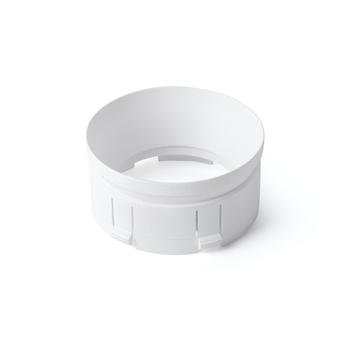 Accessoires anneau pour projecteur stan blanc o5 7cm h2 9cm faro normal