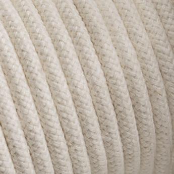 Accessoires cable tissu 083 002 ivoire l400cm hcm zangra normal