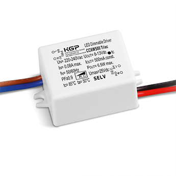 Accessoires transformateur 350ma 7 35w variable blanc ip44 l4 8cm h2cm delta light normal