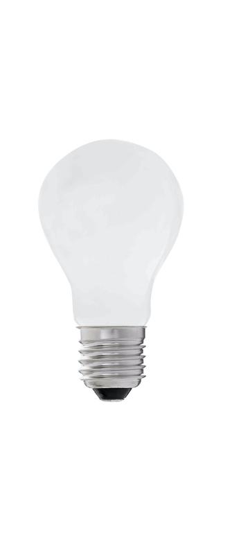 Ampoule a60 e27 led 4000k 7w 640lm cri 80 o6cm h10cm faro normal