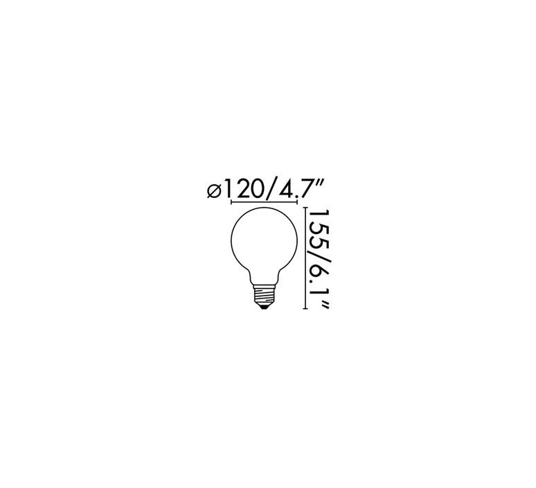 Ampoule led estudi ribaudi ampoule classique classic bulb  faro 17478  design signed 53987 product