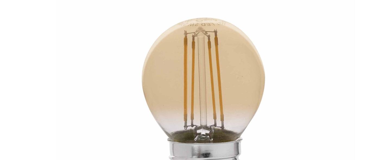 Ampoule classique g45 ambre lcm hcm faro normal