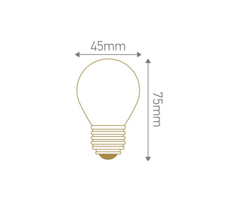 Spherique g45 filament  thomas edison ampoule classique classic bulb  girard sudron 28649  design signed nedgis 78520 product