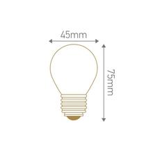 Spherique g45 filament  thomas edison ampoule classique classic bulb  girard sudron 28649  design signed nedgis 78520 thumb