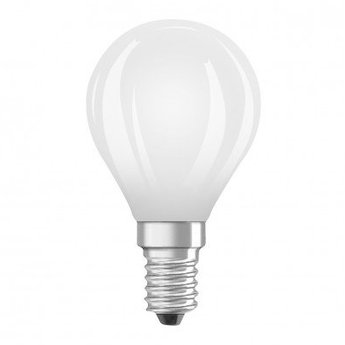 Ampoule e14 depolie led 6w 2700k 806lm dimmable o4 5cm h10cm osram normal