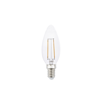 Ampoule e14 filamant led 2w 2700k 2200lm o9 5cm h10cm normal