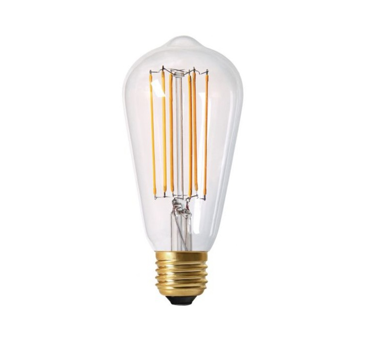 Ampoule E27 Edison Filament Led 4w 2300k 300lm H14cm O6 4cm