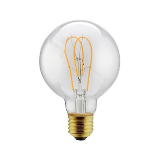 Ampoule e27 filament led h13cm o9 5cm 4w 2200k 200lm zangra normal