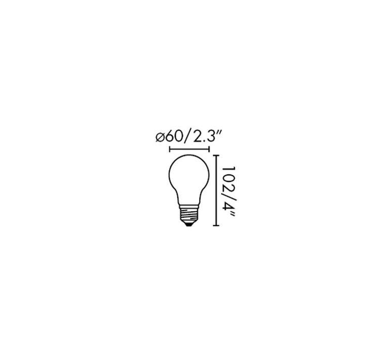 Ampoule e27 led 2700k 7w 800lm cri 80 faro 38614 product