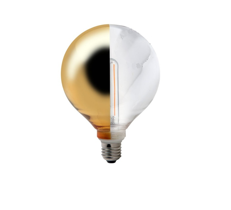 Ampoule e27 led dore transparent o 12 5 cm zangra 41548 product