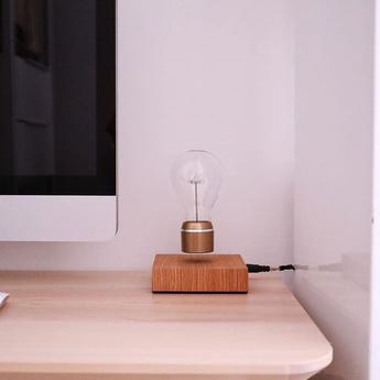 Ampoule en levitation flyte royal 2 0 or led o12 6cm h20cm flyte normal