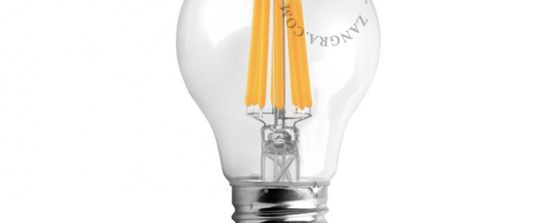 Ampoule filament led e27 o6cm h11cm 250lm 5w zangra normal