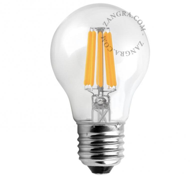 Ampoule filament led e27 o6cm h11cm 250lm 5w zangra 51973 product