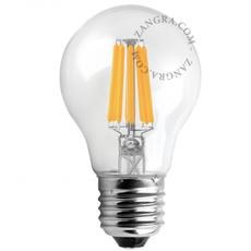 Ampoule filament led e27 o6cm h11cm 250lm 5w zangra 51973 thumb