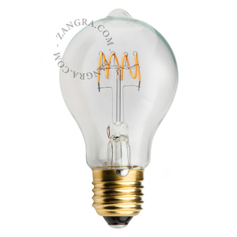 Ampoule filament led e27 o6cm h11cm 250lm 5w zangra normal
