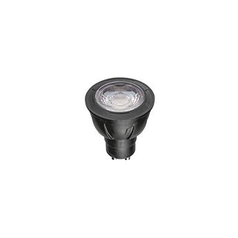 Ampoule gu10 led 7w 360 lm 2700 k dimmable 45 noir wever ducre normal