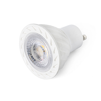 Ampoule gu10 led 8w 450lm 2700k o5cm blanc faro normal