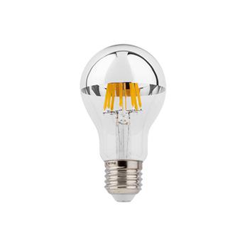 Ampoule led ampoule e27 variable coupure de phase miroir argente led 2700k 500lm o6cm h11cm wever ducre normal