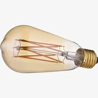 Ampoule led ampoule flachmann gold led or o6 4cm h15cm bolia normal