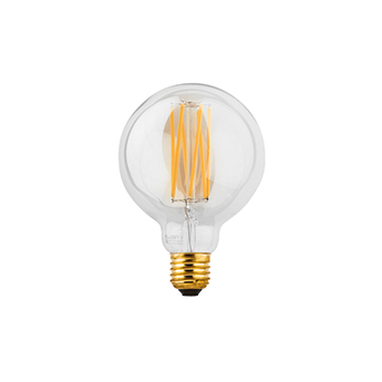 Ampoule led ampoule g95 led lamp transparent l7cm h13 5cm wever ducre normal