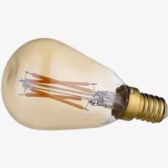 Ampoule led ampoule gold led orb mini or o4 5cm h9cm bolia normal