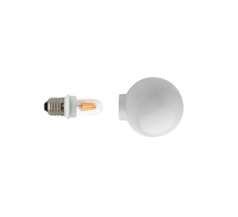 Ampoule opale zangra ampoule led eco bulb  zangra lightbulb lf 001 02 080  design signed 56957 product