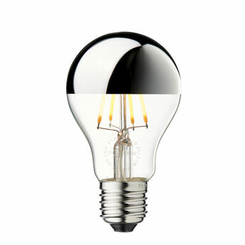 Ampoule led arbitrary o60 argent o6cm h10 8cm design by us normal