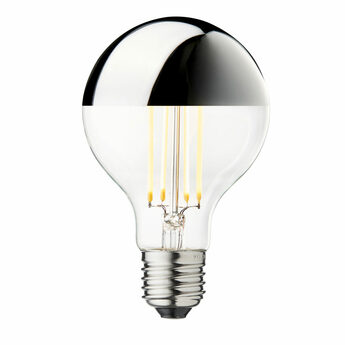 Ampoule led arbitrary o80 argent o8cm h11 8cm design by us normal