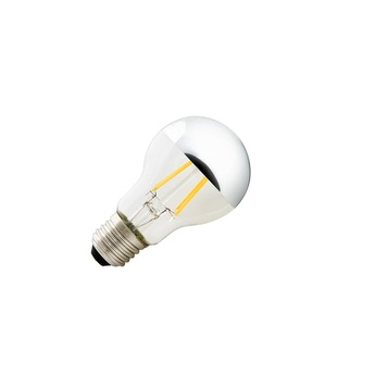 Ampoule led calotte chrome led e27 6w 640lm 2700k slv normal