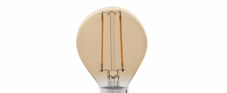 Ampoule led e14 ambre 2700k 220lm 2w h7cm o4 5cm faro normal