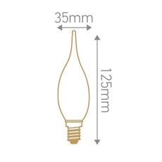 Globes g125 thomas edison ampoule led eco bulb  girard sudron 719010  design signed 81260 thumb