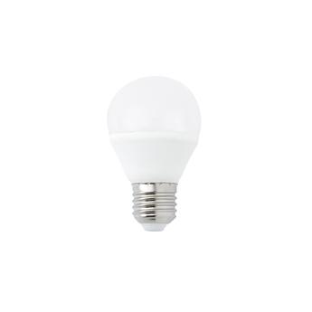 Ampoule led e27 5w 3000k blanc chaud o6cm h11cm irc 80 normal