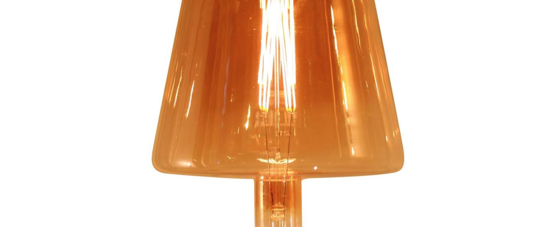 Ampoule led e27 ampoule geante shade 2000 k 400lm ambre led o2 5cm h3 8cm atelier areti normal