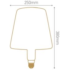 Ampoule geante shade  thomas edison ampoule led eco bulb  girard sudron 717001  design signed 60429 thumb