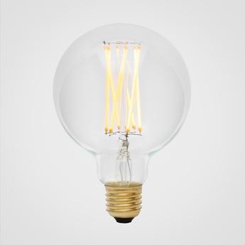Ampoule led e27 elva 6w transparent o9 5cm h14cm tala normal