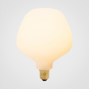 Ampoule led e27 enno 6w porcelaine o13 4cm h17 5cm tala normal