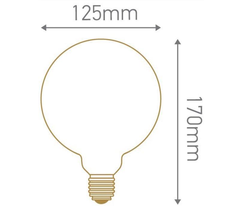 Globes g125 thomas edison ampoule led eco bulb  girard sudron 719010  design signed 81251 product