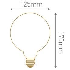 Globes g125 thomas edison ampoule led eco bulb  girard sudron 719010  design signed 81251 thumb