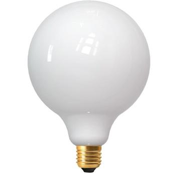 Ampoule led e27 milky globes g125 blanc 2700 k 1250 lm 360 led o12 5cm h17cm girard sudron normal