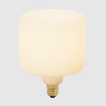 Ampoule led e27 oblo 6w porcelaine o12 5cm h16 5cm tala normal