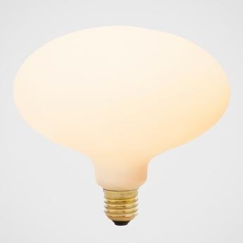 Ampoule led e27 oval 6w porcelaine o16 3cm h14 5cm tala normal