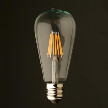 Ampoule led e27 pebetero argent h13 6cm faro normal