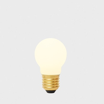 Ampoule led e27 sphere i 4w dim to warm porcelaine o5cm h8 4cm tala normal