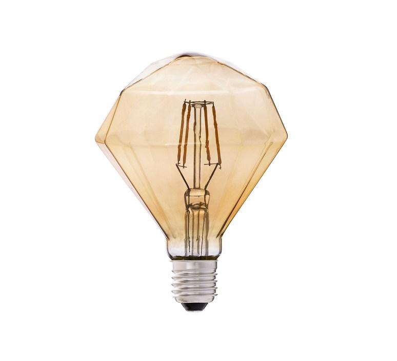 ampoule led filament amber ambre h14 5cm 11 cm faro luminaires nedgis. Black Bedroom Furniture Sets. Home Design Ideas