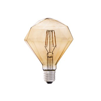 Ampoule led filament amber ambre h14 5cm o11 cm faro normal