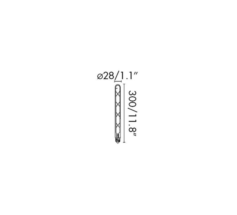 Filament amber thomas edison ampoule led led bulb  faro 17445  design signed 36745 product