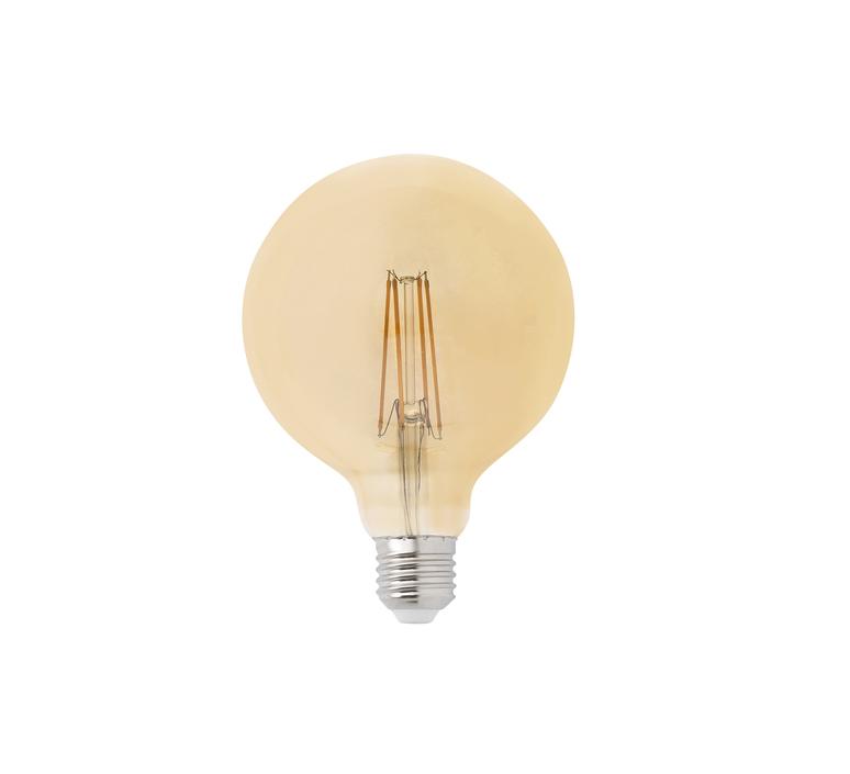 Filament amber thomas edison ampoule led led bulb  faro 17434  design signed 36741 product