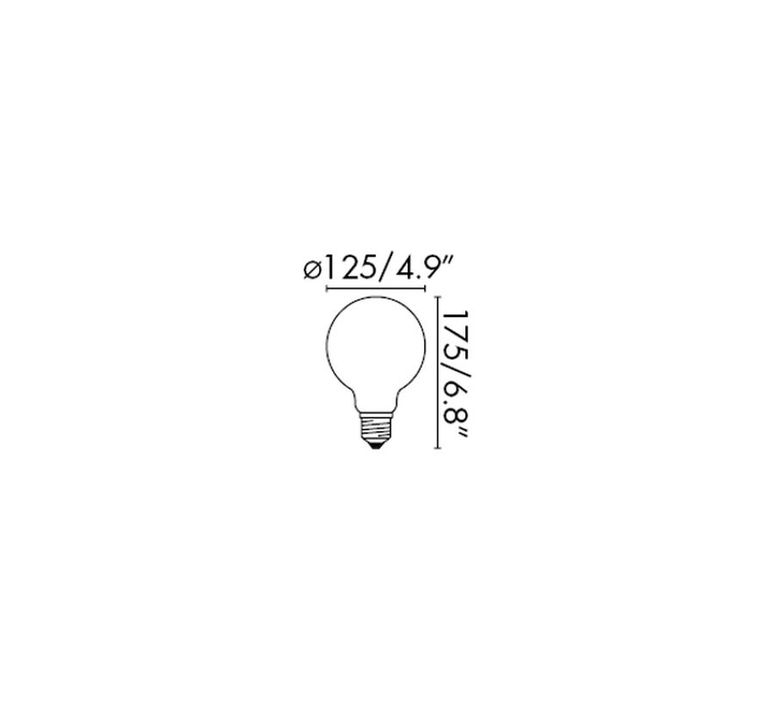 Filament amber thomas edison ampoule led led bulb  faro 17434  design signed 36742 product