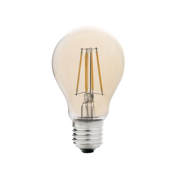 Ampoule led filament amber ambre o5 6cm h10 2cm faro normal