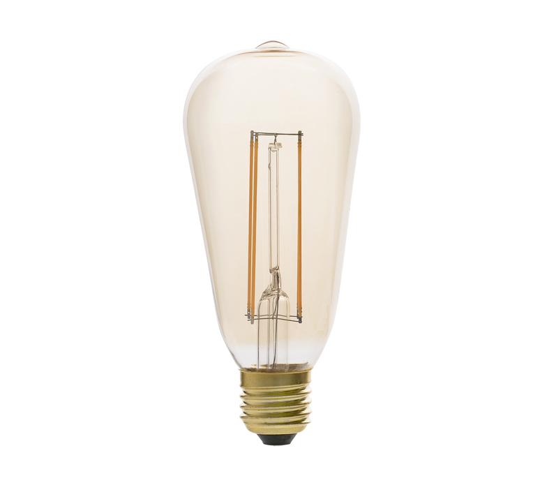 Filament amber thomas edison ampoule led led bulb  faro 17433  design signed 36737 product